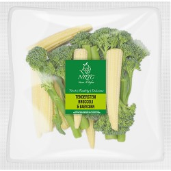 Tender Stem Broccoli & Baby Corn