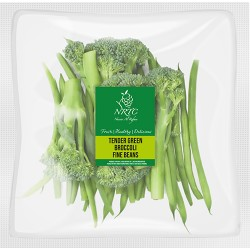 Tender Green Broccoli Fine Beans