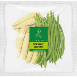 French Beans & Baby Corn