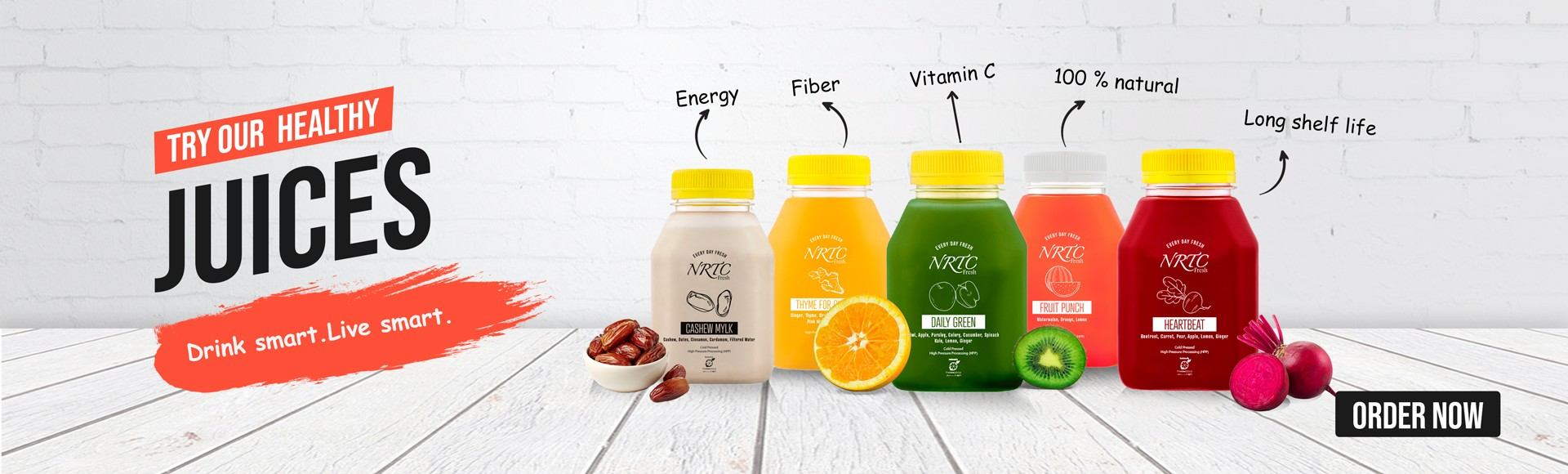 NRTC - Our Healthy Juices